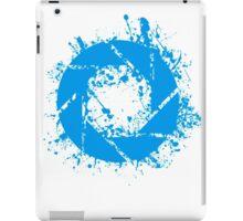 Portal Aperture Science Splatter Logo iPad Case/Skin