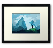Fierce Warrior Framed Print