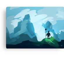 Fierce Warrior Canvas Print