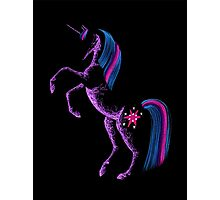 MLP Twilight Sparkle Minimal Abstract Drawing Photographic Print