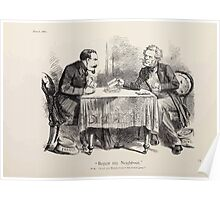 Cartoons by Sir John Tenniel selected from the pages of Punch 1901 0030 Beggar My Neighbor Poster
