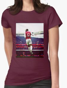 Thierry Henry Stadium View Womens Fitted T-Shirt