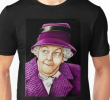 Margaret Rutherford plays Miss Jane Marple Unisex T-Shirt