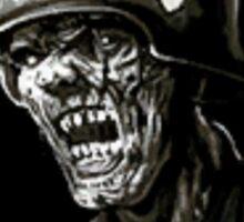 Nazi Zombies Sticker