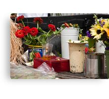 Farmers' Market Canvas Print