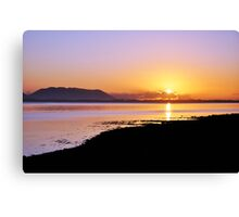 Sunset at Inch, Co. Kerry, Ireland Canvas Print