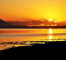 Sunset at Inch, Co. Kerry, Ireland 2 by Pat Herlihy