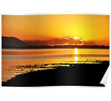 Sunset at Inch, Co. Kerry, Ireland 2 Poster