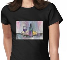 Scene From An Italian Restaurant Womens Fitted T-Shirt