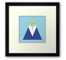 Adventure Time- Ice King Framed Print