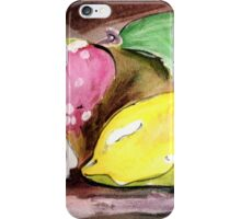 Fruit~ Lemon, strawberry, flower iPhone Case/Skin