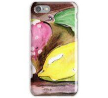 Fruit~ Lemon, strawberry, flower iPhone Case/Skin