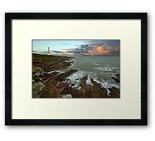 Tarbat Ness Lighthouse Framed Print