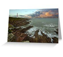 Tarbat Ness Lighthouse Greeting Card