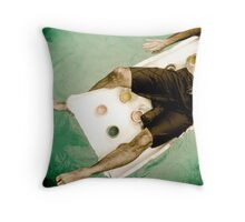 Summer Task Throw Pillow