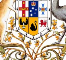 australian coat of arms Sticker
