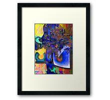 Medusa 2010 - She Came Untangled Framed Print