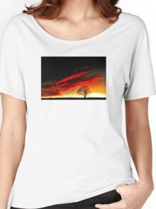'Nature-Reflect' Women's Relaxed Fit T-Shirt