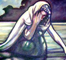 La Llorna - The Weeping Woman - Loteria Sticker