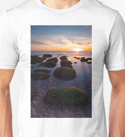 Hunstanton sunset Unisex T-Shirt