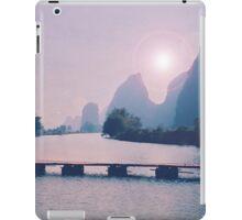 Wooden foot bridge in China iPad Case/Skin