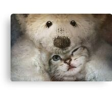 Is this love Canvas Print