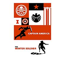 captain america: the winter soldier Photographic Print