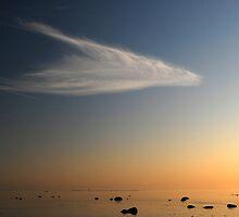 Wistful cloud over Horse Island by Phrozen