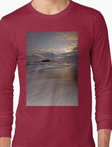 St. Mary's Lighthouse sunrise Long Sleeve T-Shirt