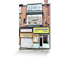 The Off Licence with no Beer. Greeting Card