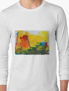 Abstract 08 Long Sleeve T-Shirt