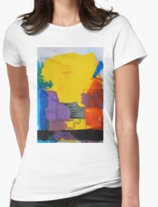 Abstract 10 Womens Fitted T-Shirt