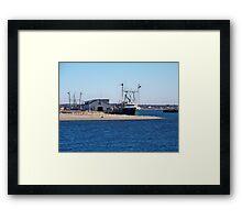 Montauk Harbor Framed Print