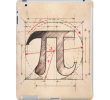 Pi Symbol Sketch iPad Case/Skin