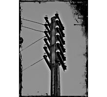 high voltage electricity Photographic Print