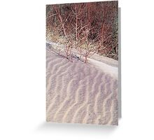 Sand Art of the Dunes Greeting Card