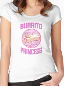 Burrito Princess Women's Fitted Scoop T-Shirt