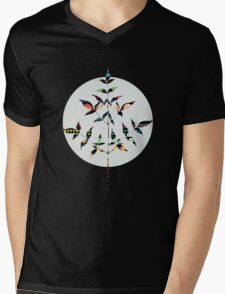 Flutter Mens V-Neck T-Shirt