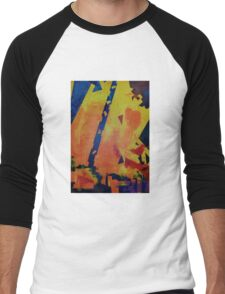 Abstract Men's Baseball ¾ T-Shirt