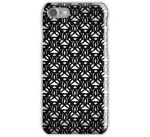 Elegant Black Forged Lace Pattern iPhone Case/Skin
