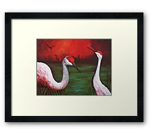 the people Framed Print