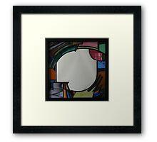 Square Mirror No 1 Framed Print