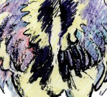 Fred the Ostrich Sticker