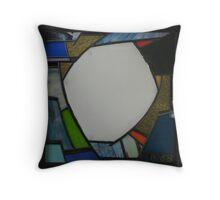 Square Mirror No 3 Throw Pillow