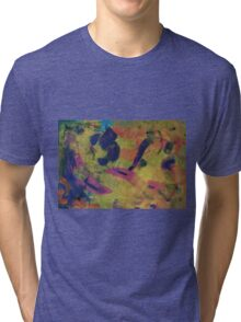 Abstract Tri-blend T-Shirt