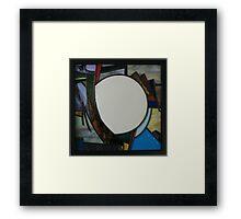 Square Mirror No 4 Framed Print