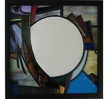 Square Mirror No 4 Photographic Print