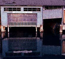 Boat House Skaneateles  by Harlan Mayor