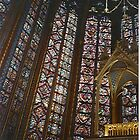 St Chapelle, Ile de la Cite, Paris by BronReid