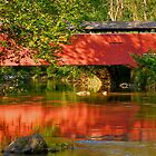 Foxcatcher Covered Bridge  by Monte Morton